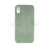 Musewill iPhone X Ultrasuede Case | Light Grey