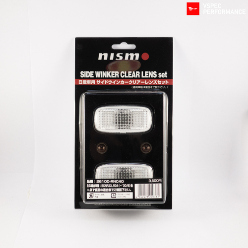 Nismo Clear Side Indicator Set (for R33 GT-R & R34 GT-R/GT-T)