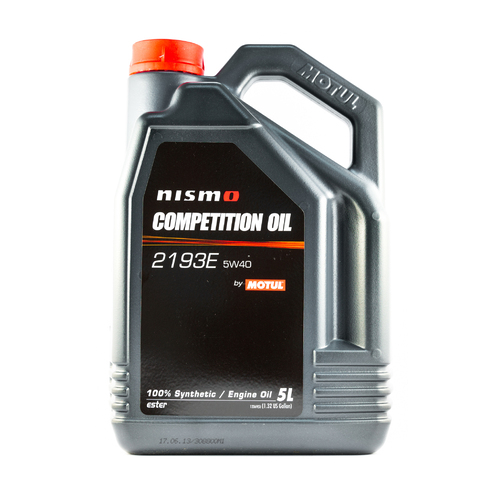 Motul NISMO COMPETITION OIL 2193E 5W40 5L