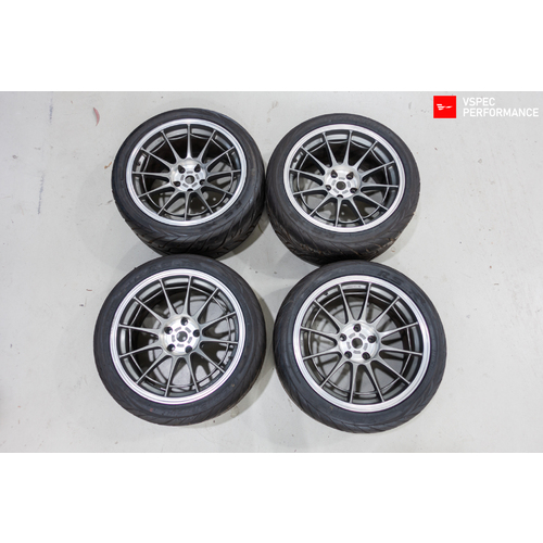 Advan Racing NT-03 18x9.5+15 5x114.3 (Used)