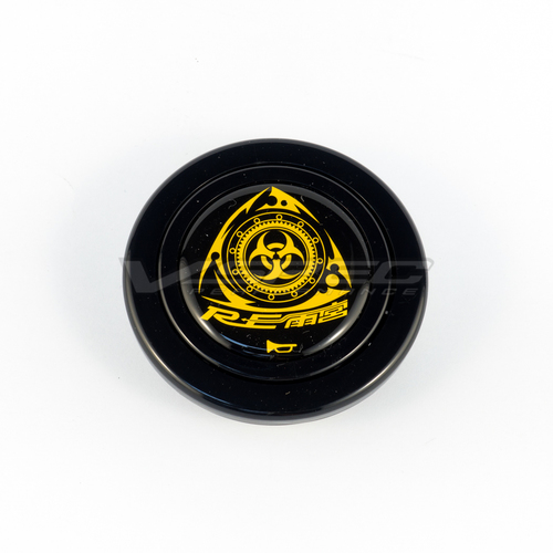RE-Amemiya Rotary Horn Button | Black
