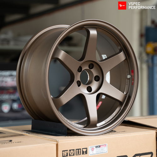 Volk Racing TE37SL Super Lap  - 19x9.5+22/10.5+35 5x112 BRONZE (SET)